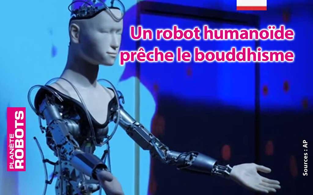 Un robot humanoïde au service du bouddhisme