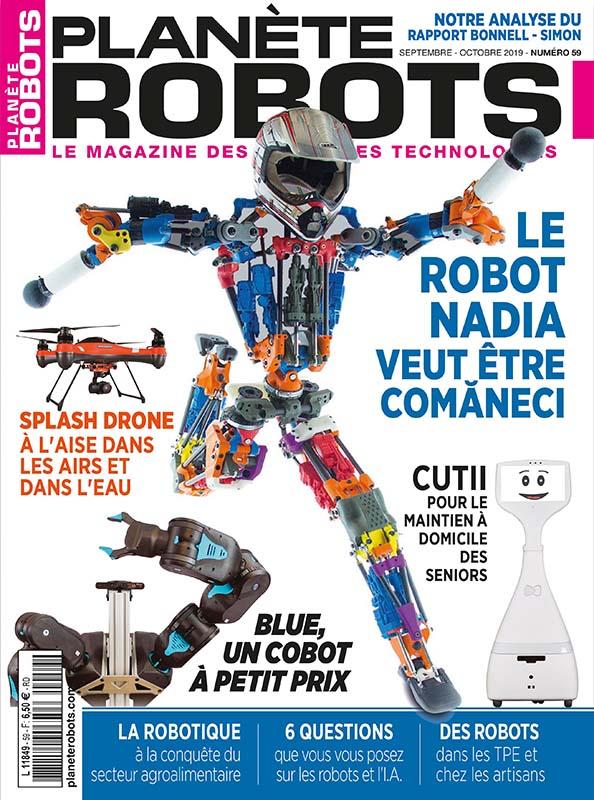 Planète Robots N° 59 | septembre-octobre 2019