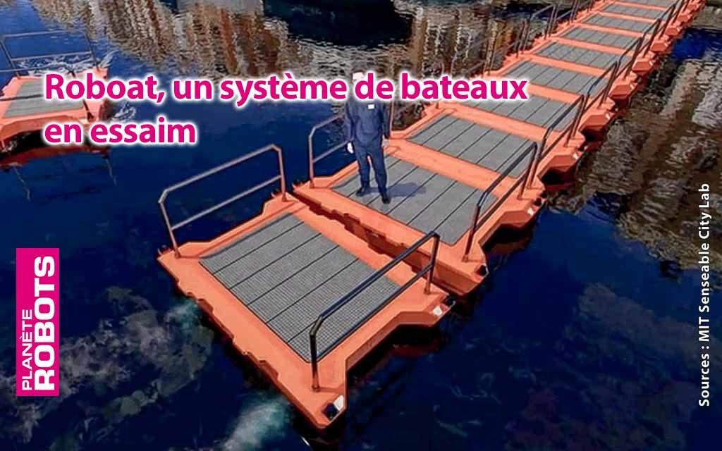 Des robots ponts au service de la circulation dans Amsterdam