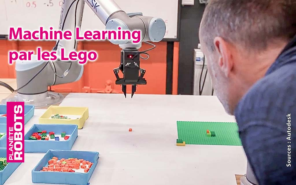 L'utilisation d'un robot rendue chaque jour plus facile.