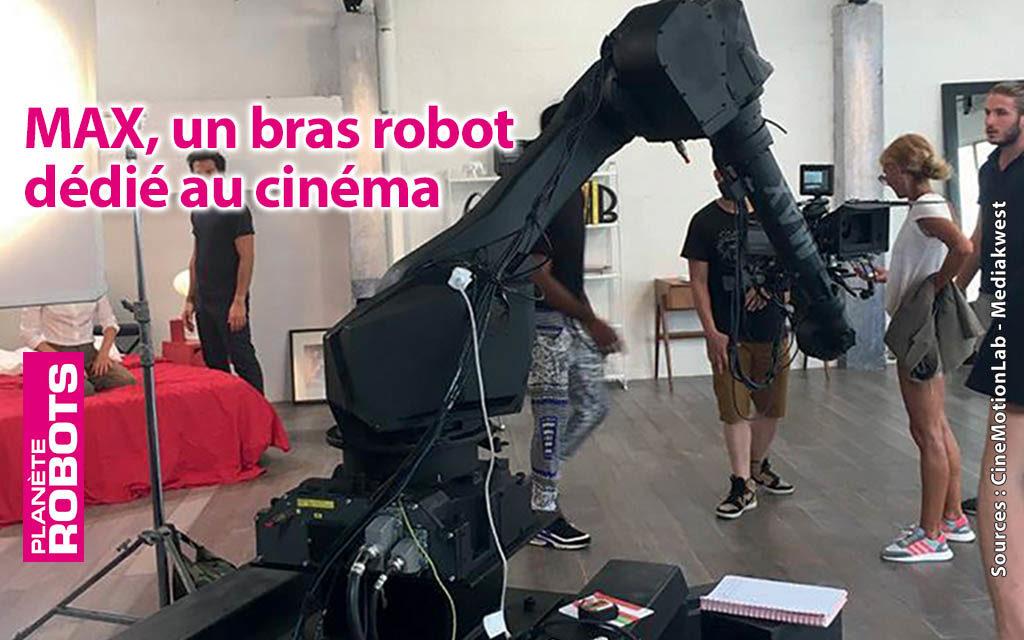 Un bras robot industriel fait son cinéma