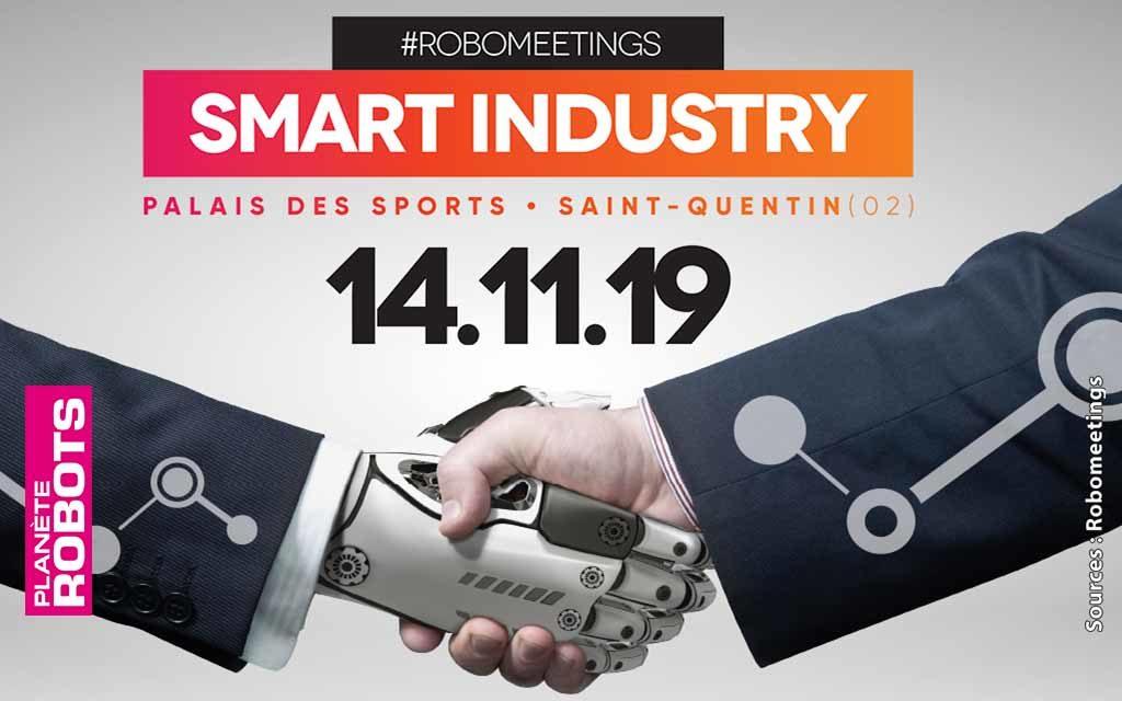 Experts de la robotique et des innovations numériques, 13 & 14 novembre 2019 à Saint-Quentin (02)
