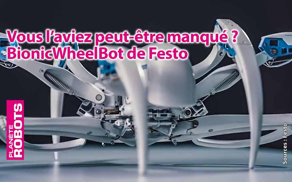 Un robot hexapode inspiré d'une araignée des sables