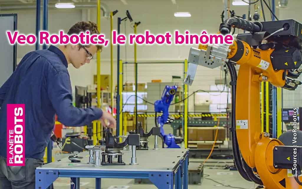 Le robot parfait binôme de l'humain pour l'industrie