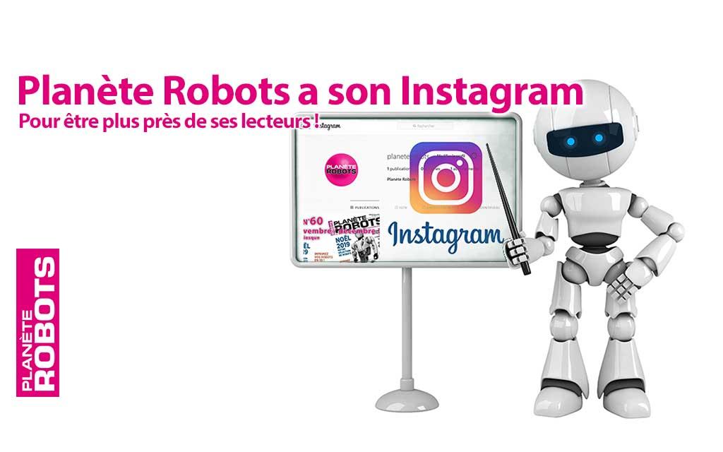 Vous pourrez désormais nous suivre aussi sur Instagram