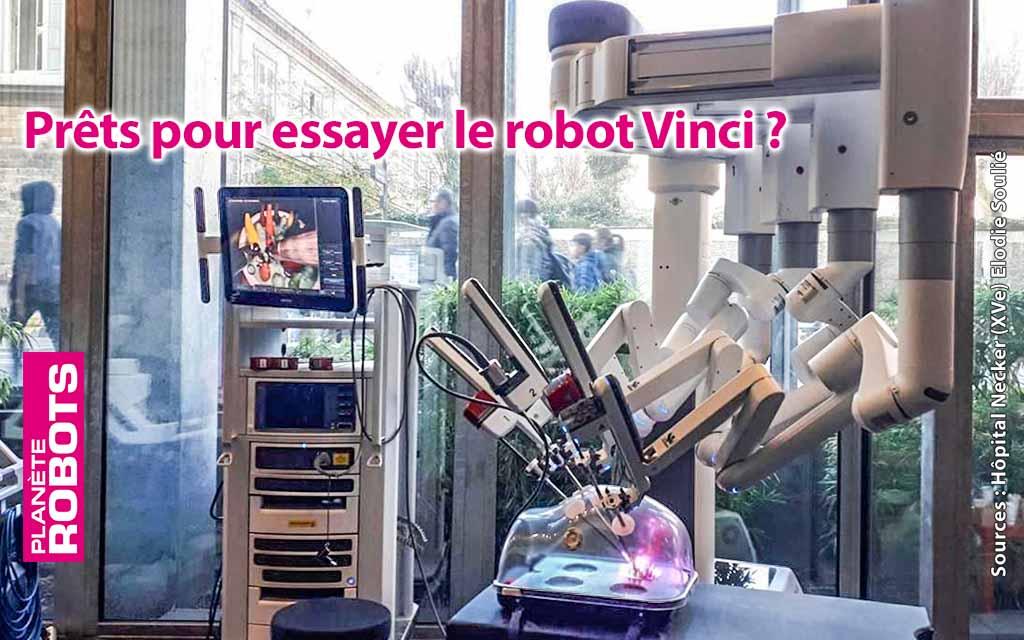 Testez un robot opératoire pendant les grèves