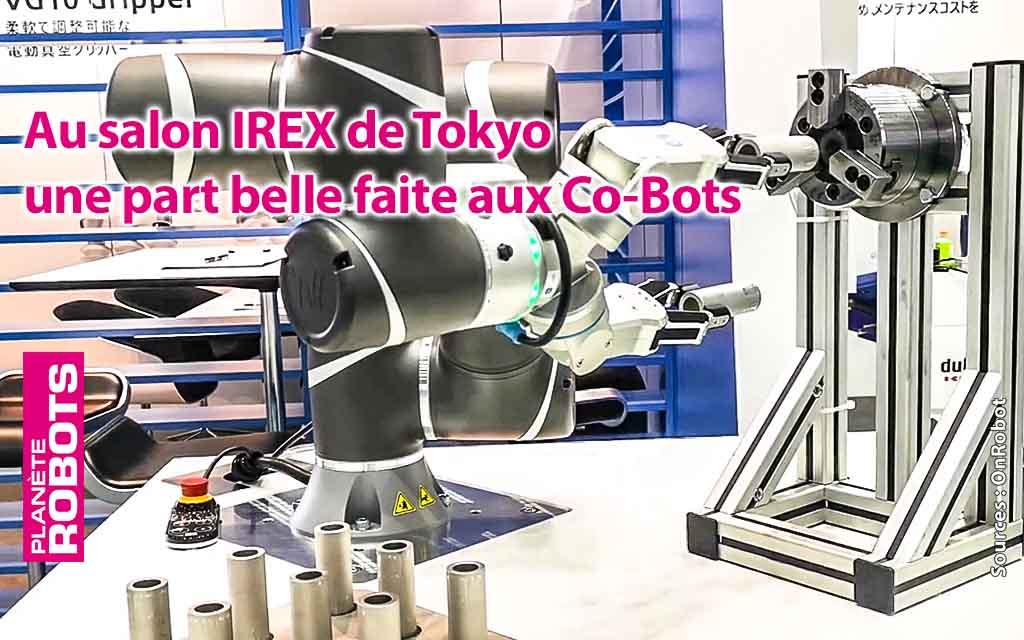 De nombreux robots coopératifs au salon IREX de Tokyo