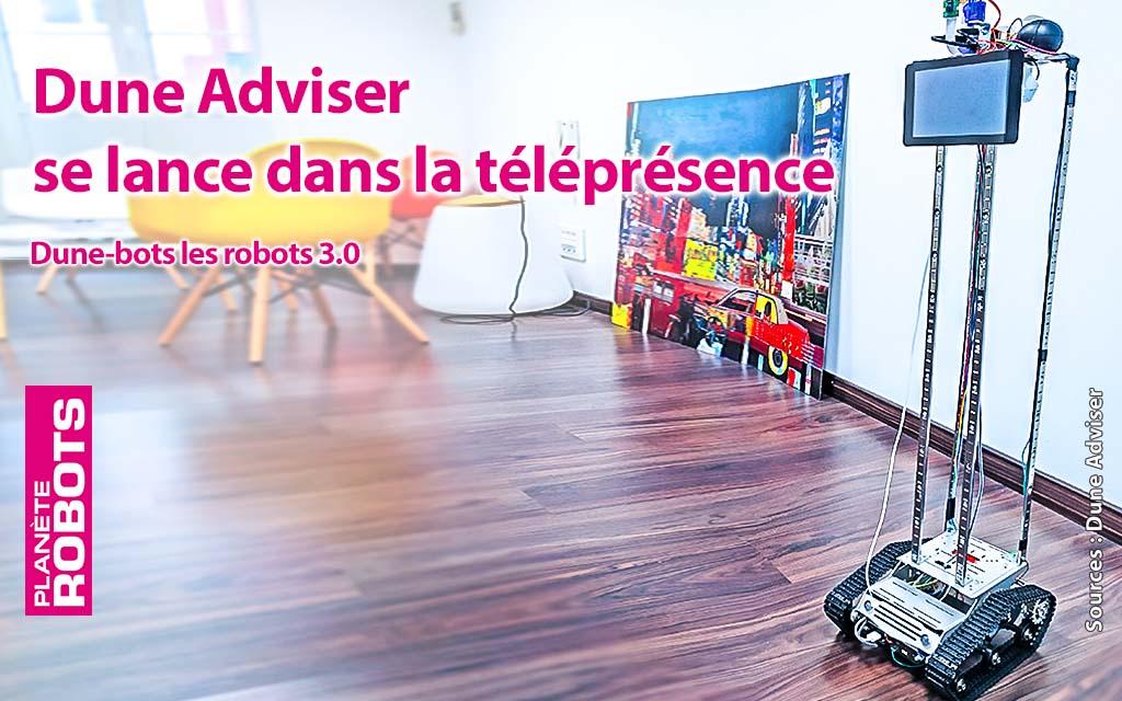 Avec son robot Dune-Bot, DuneAdviser innove dans l'Internet des Objets
