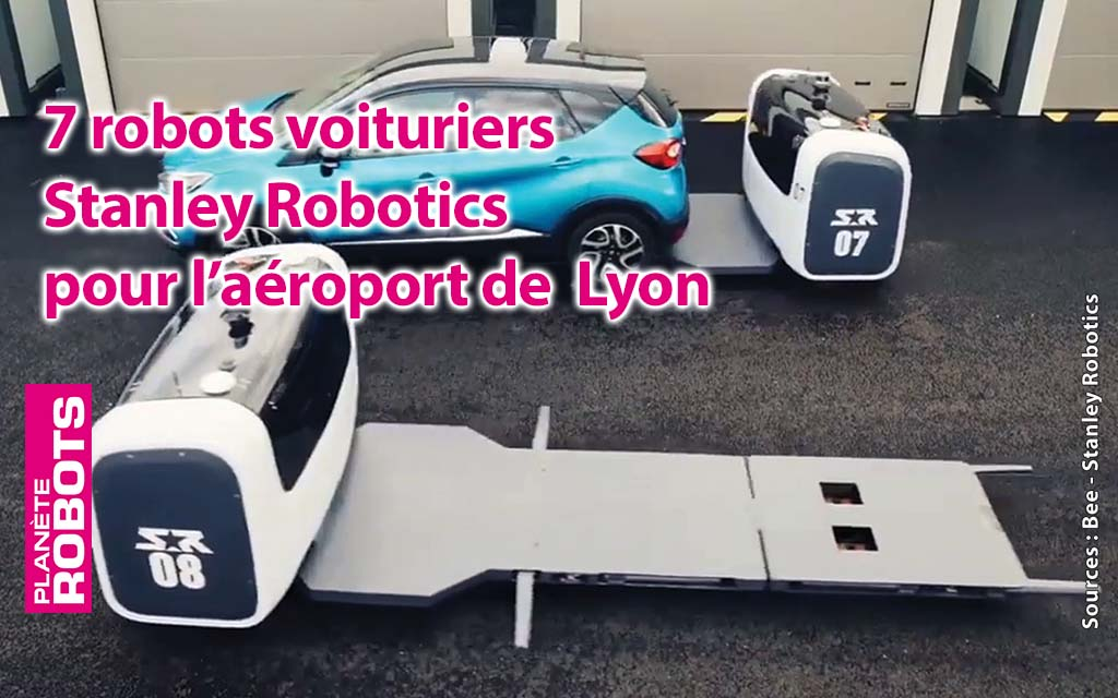 Succès pour le robot voiturier de Stanley Robotics !