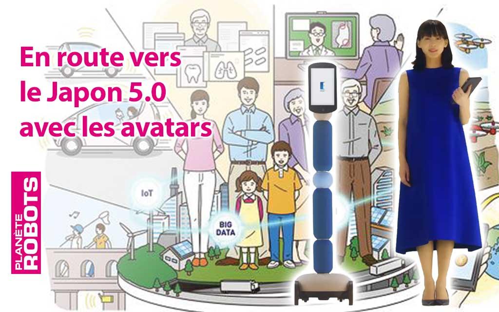 Voyager en avatar et faire son shopping avec un robot, une nouvelle société japonaise