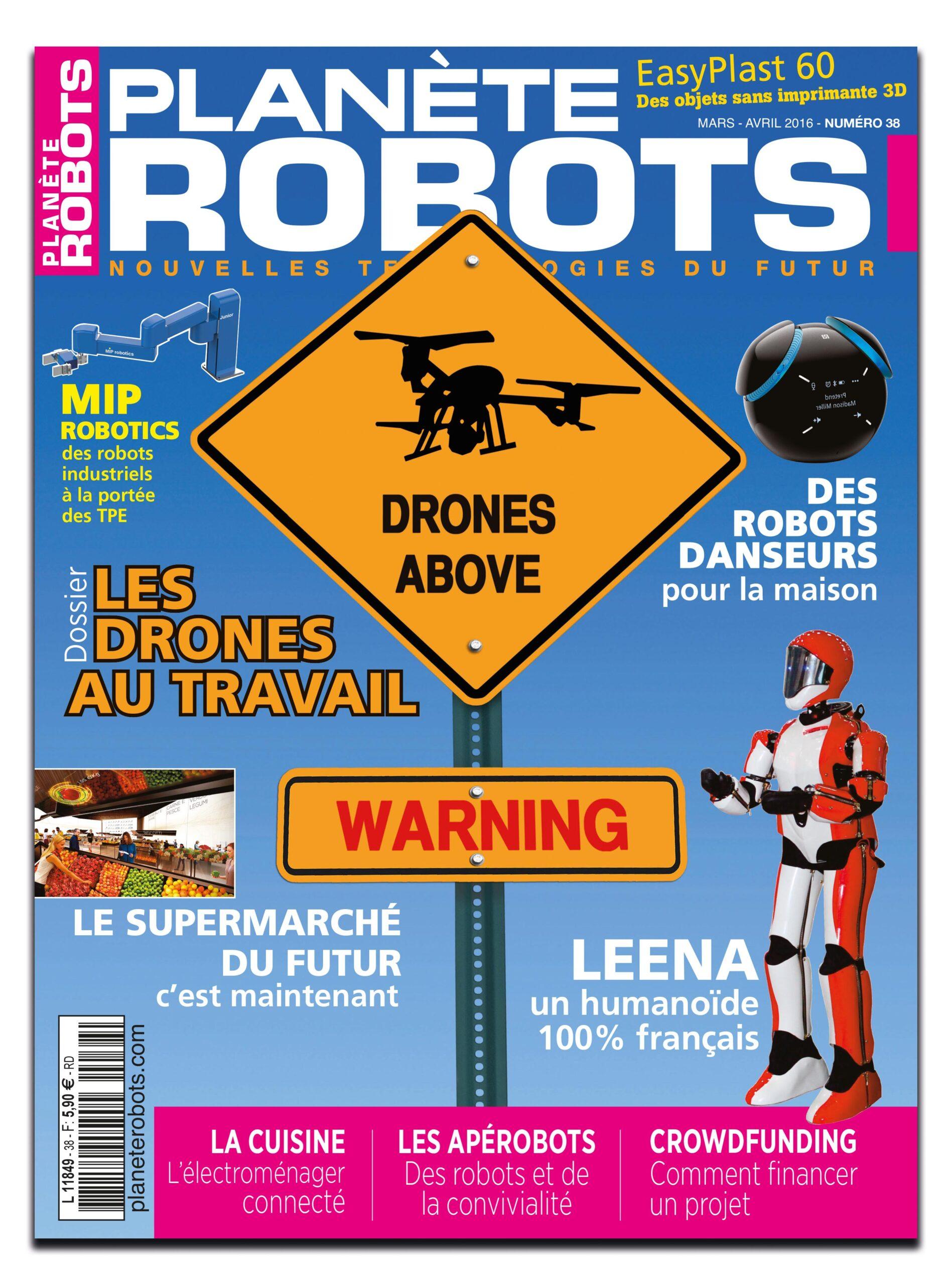 Planète Robots numéro 38