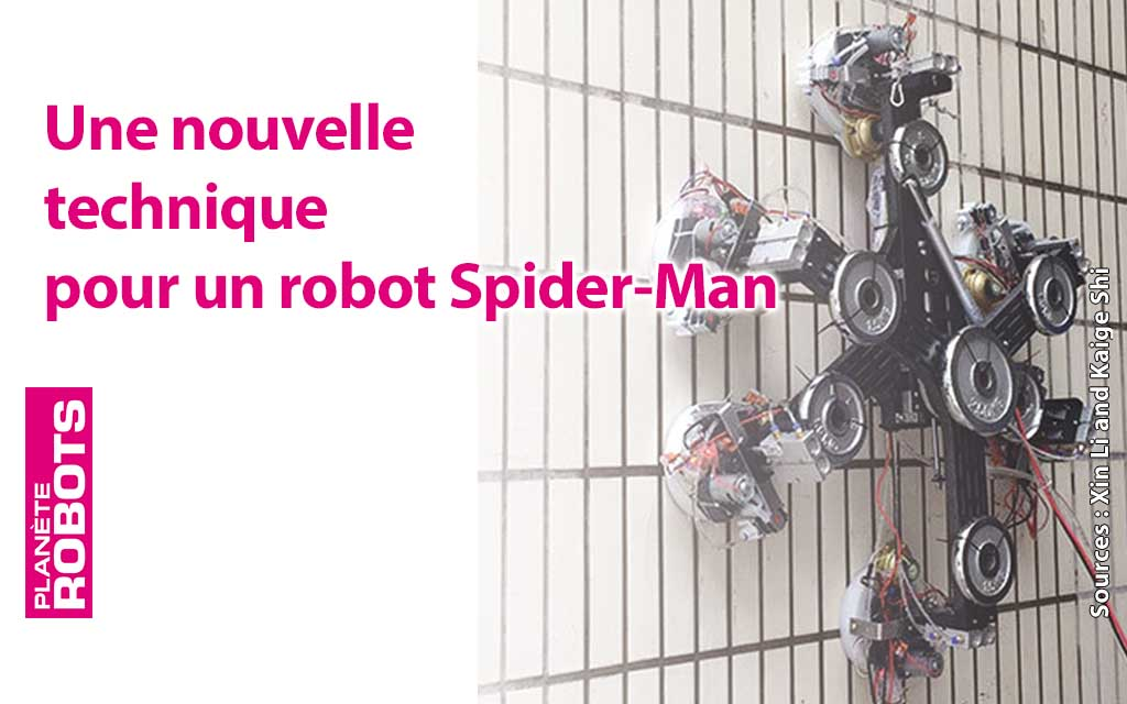 La différence de pression nulle pour un robot araignée