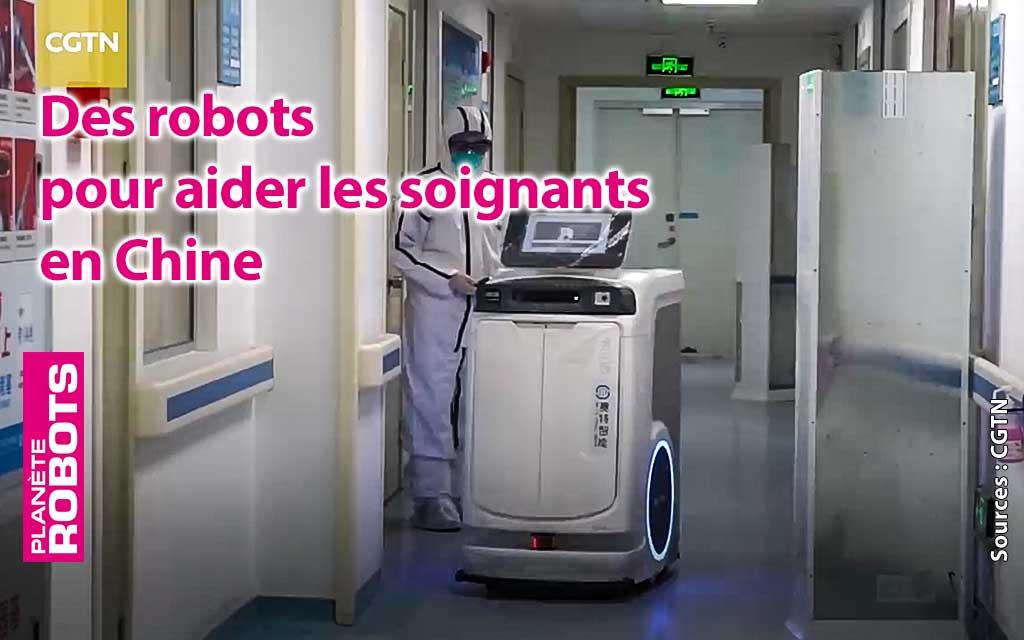 Des robots au secours des soignants des victimes du coronavirus