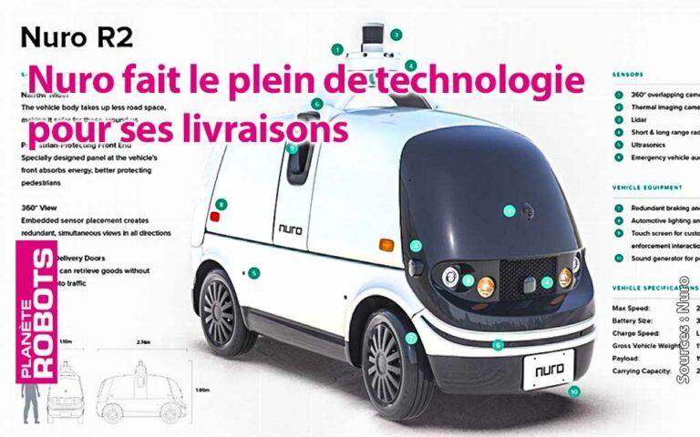 Nuro 2 fait le plein de technologies