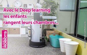 Une Intelligence Artificielle pour apprendre à des robots à ranger la chambre des enfants