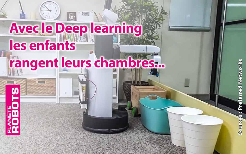 Dans un 5 ans ce robot pourrait bien ranger la chambre de vos enfants