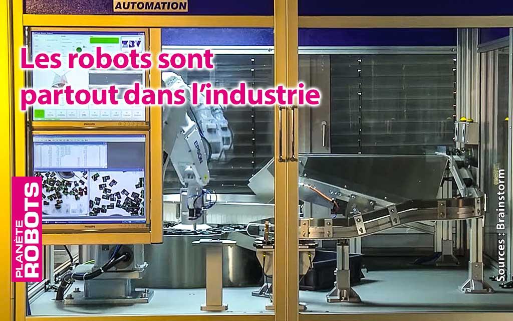 Les robots sont partout, des vidéos vous l'expliquent