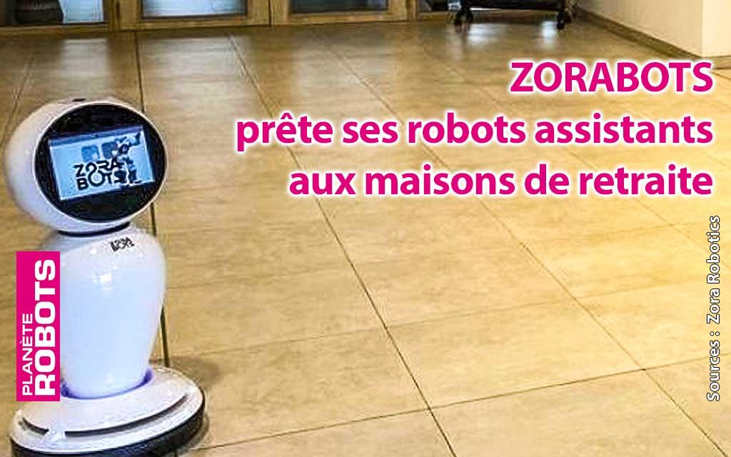 Une société belge propose de prêter des robots agents aux maisons de retraite.