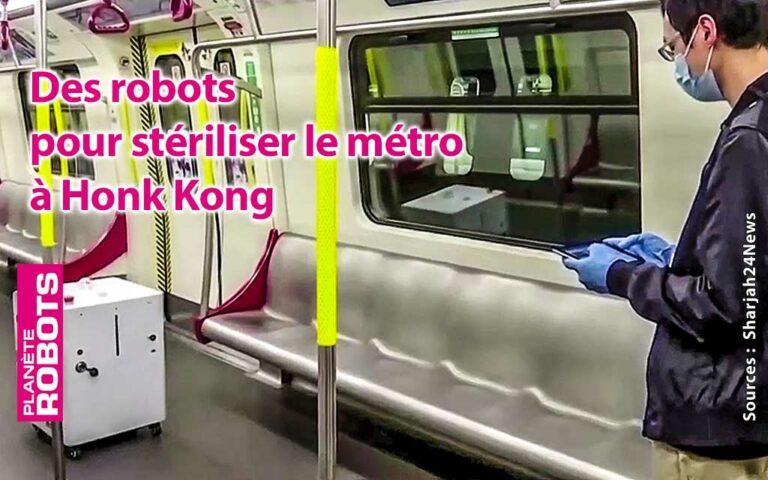 Un robot en test dans une rame de métro
