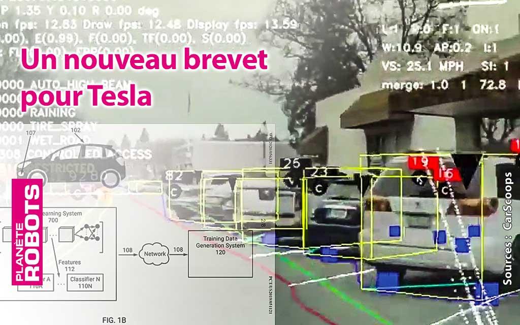 Tesla dépose un nouveau brevet de conduite autonome