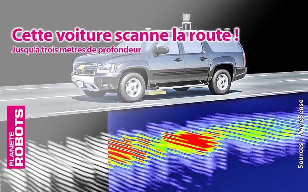 Un radar qui géolocalise votre véhicule par rapport à la structure du sol !