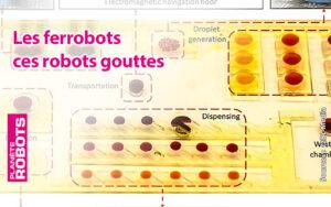 Ferrobot des robots de la taille d'une goutte d'eau