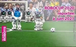 Des robots Nao à la Robocup 2019