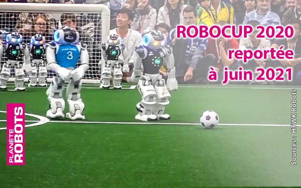 La Robocup reportée à l'année 2021
