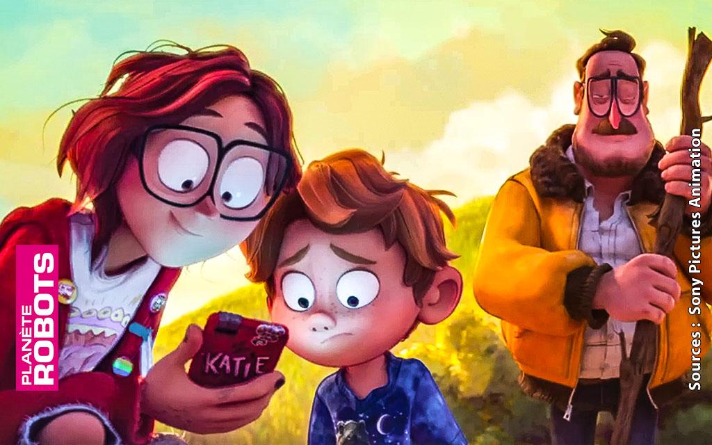 Connected le prochain dessin film d'animation de Sony