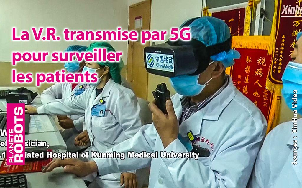 La 5G et la réalité virtuelle pour le suivi des malades du Covid-19