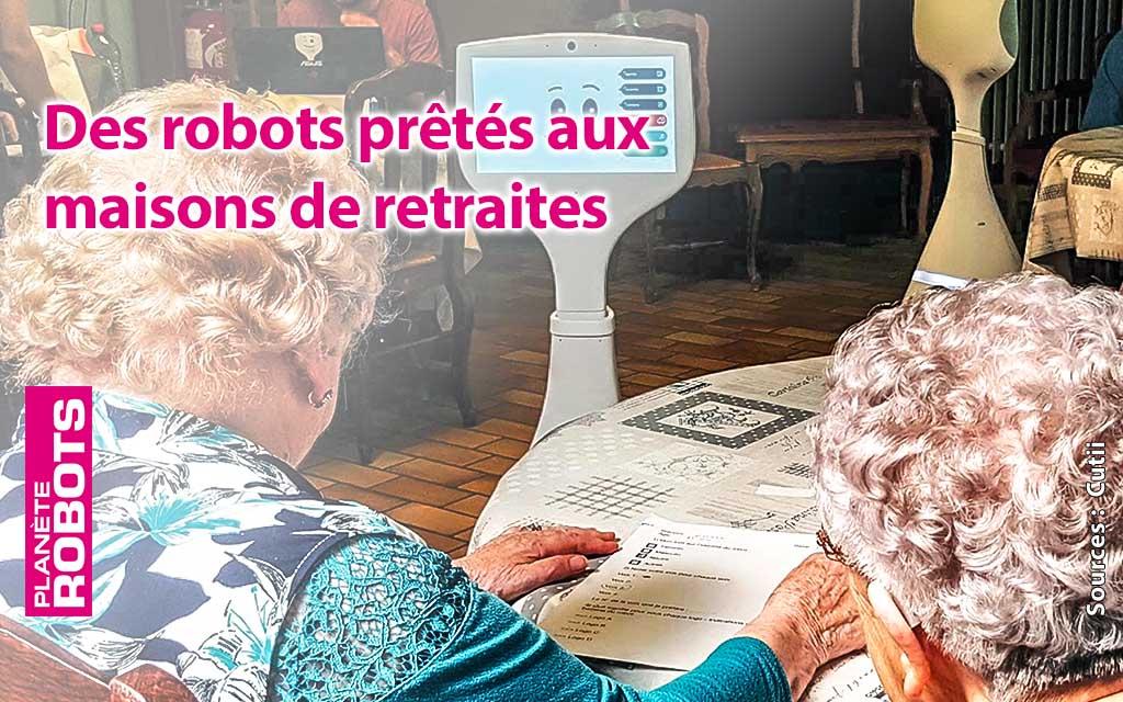 Des robots pour rompre l'isolement