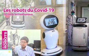 Ces robots du Covid-19