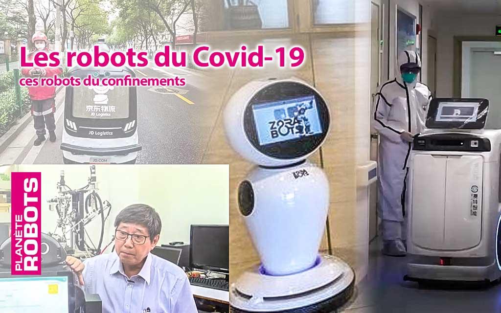 Les solutions robotiques mises en œuvre dans le monde pour lutter contre le Covid-19