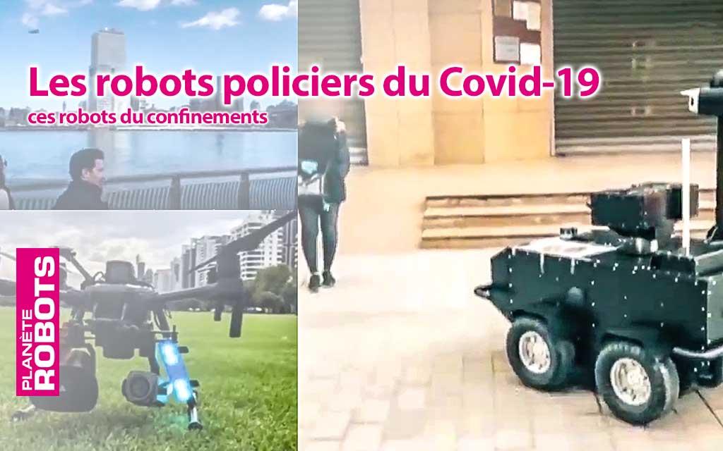 En font-ils trop avec les robots policiers?