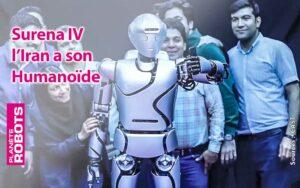 Surena IV l'iran a son robot humanoïde