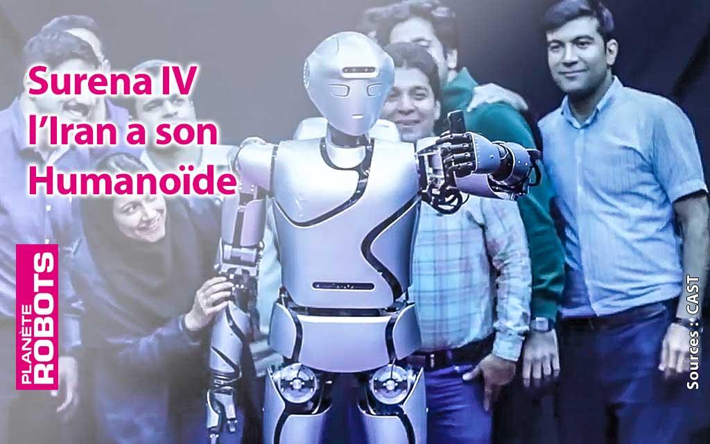 L'Iran travaille sur son robot humanoïde.