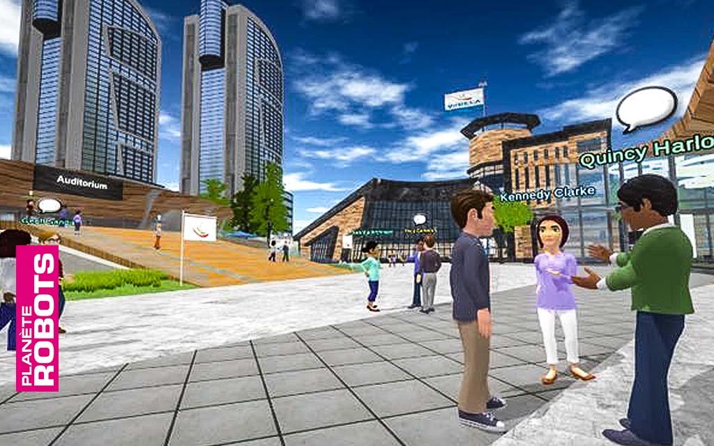 Laval virtual et Planète Robots partenaires