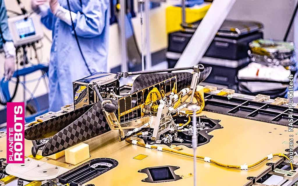 Un drone sur Mars avec la mission perseverance