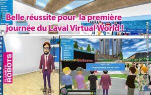 Beau Succès pour la première journée de Salon virtuel du Laval Virtual World