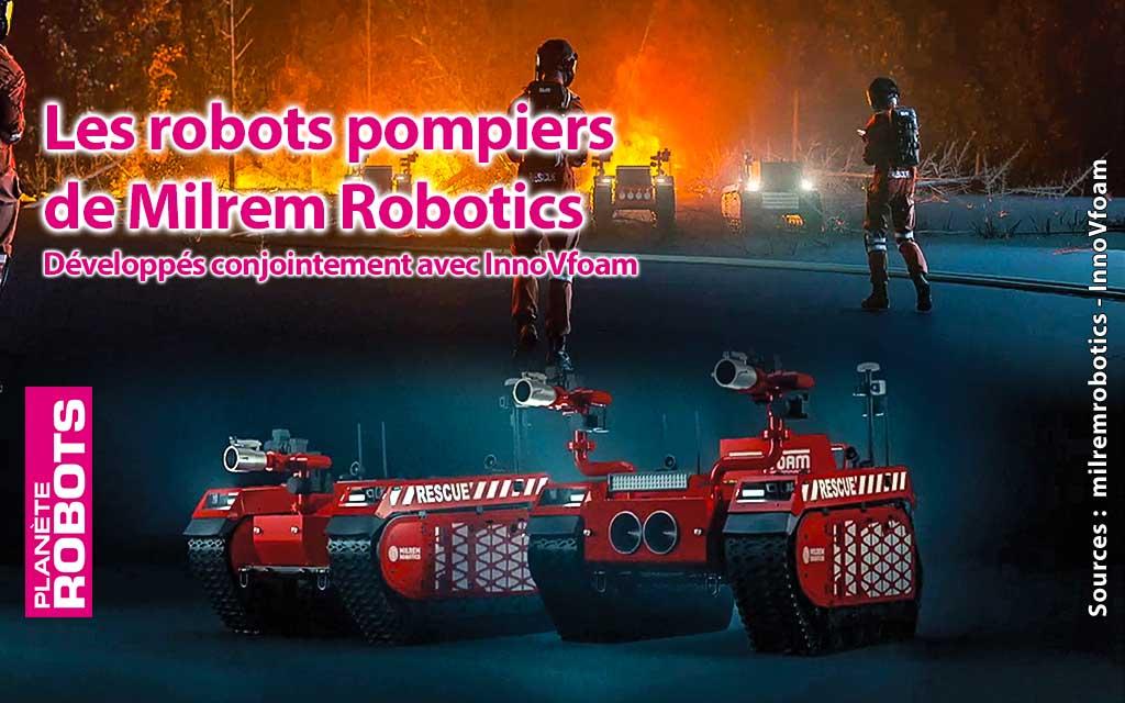 Milrem Robotics dévoile un scénario en 3D pour des robots pompiers