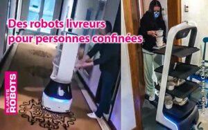 Des robots pour les personnes en confinement
