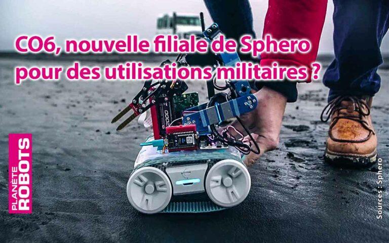Un robot RVR de Sphero modifié pour faire des prélévements
