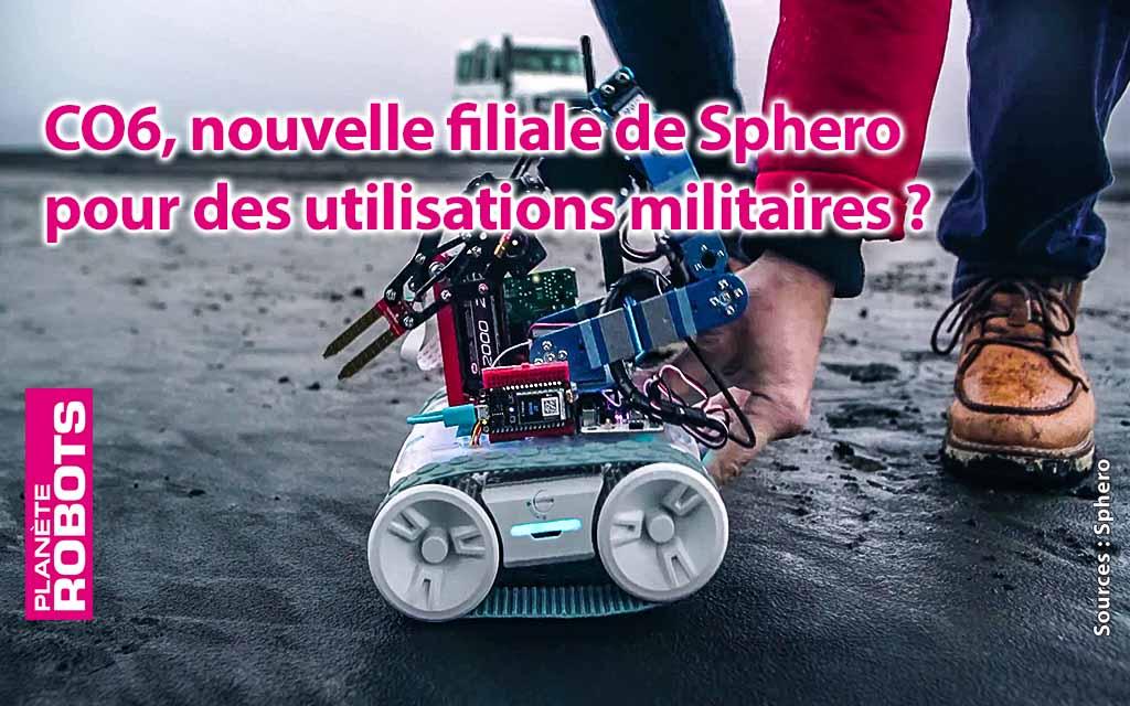 Une branche militaire pour les robots Sphero ?