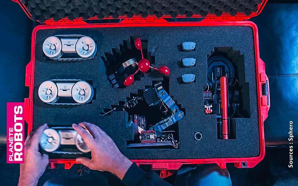 Un exemple de compartimentage de RVR pour des missions d'exploration