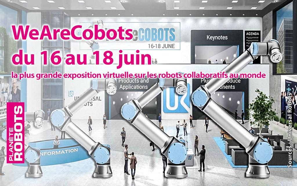 WeAreCOBOTS : Universal Robots annonce la plus grande exposition virtuelle de Cobots