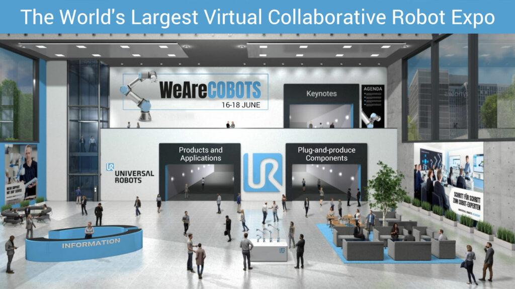 Visuel du salon virtuel