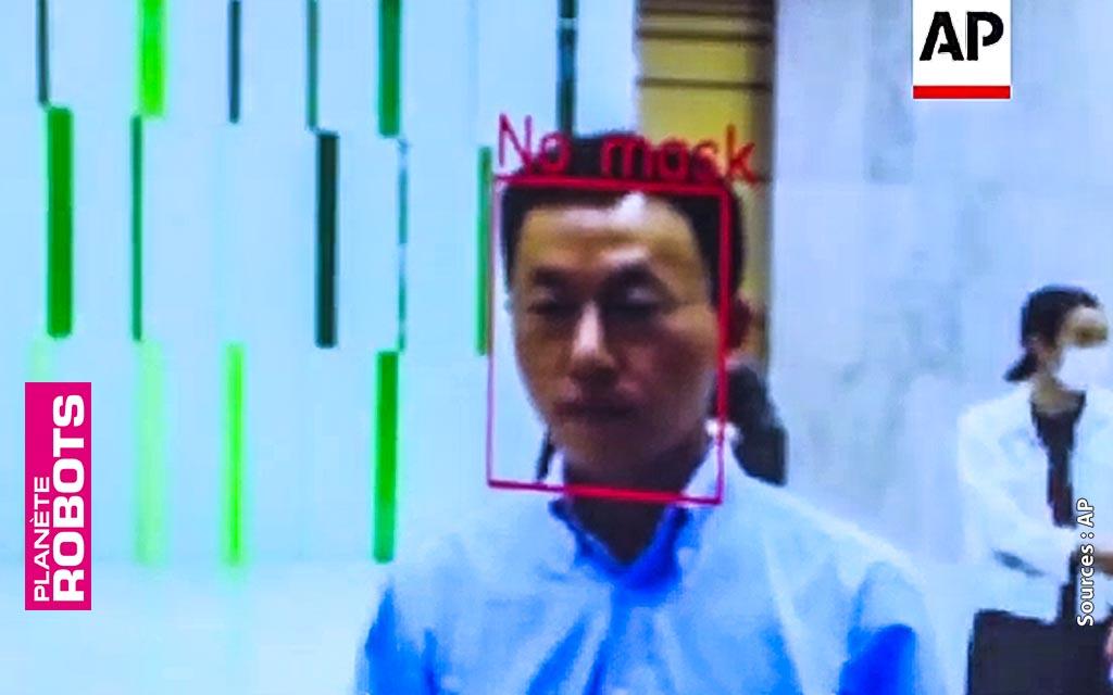 Les images filmées par ce robot sont analysée par une IA