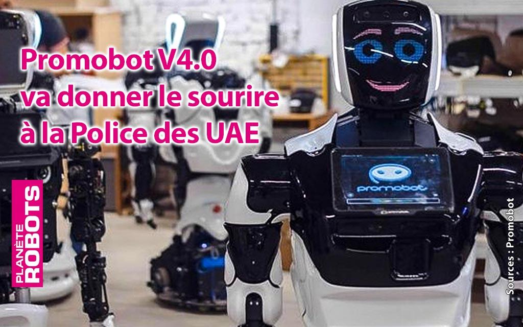 Le robot Promobot V.4 va être utilisé par la police d'Abu Dhabi