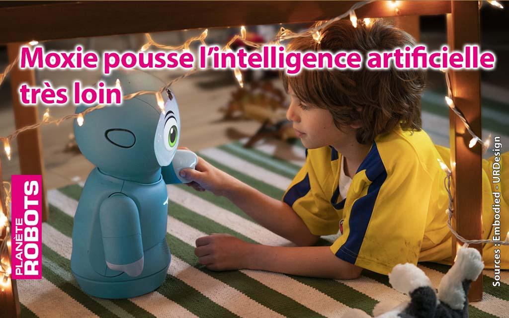 Moxie de Embodied, un robot compagnon amusant et intelligent