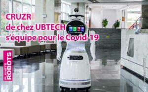 Le robot humanoïde CRUZR de UBTECH